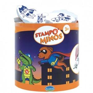 Stampo Minos Heros - 12 Tampons et 1 Encreur Geant