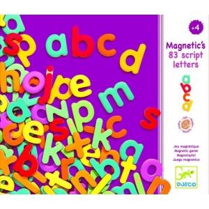 83 Lettres Script Magnetiques
