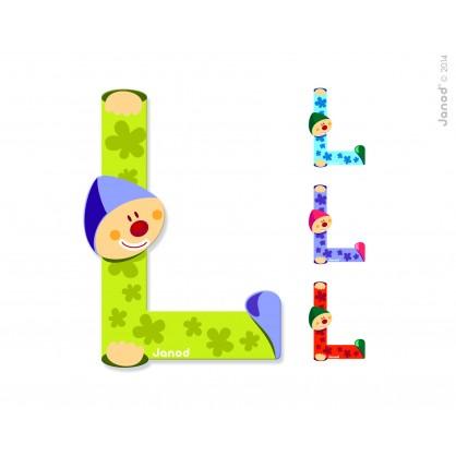 Lettre Clown L