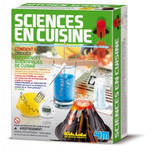 Kit Science en Cuisine - Kidz Labs