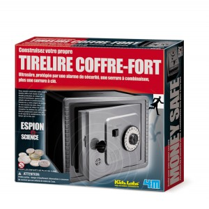 Kit Tirelire Coffre Fort
