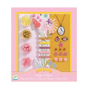 Kit de bijoux - Perles et Fleurs