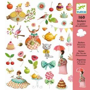 160 Stickers Le Gouter des Princesses