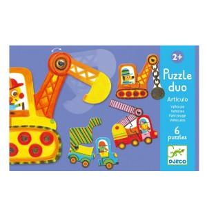 Puzzle Duo - Articulo Vehicules