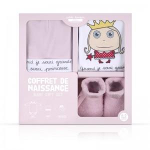 Coffret Naissance Princesse - 0-3 mois