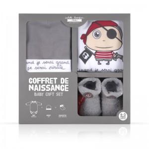 Coffret Naissance Pirate - 0-3 mois