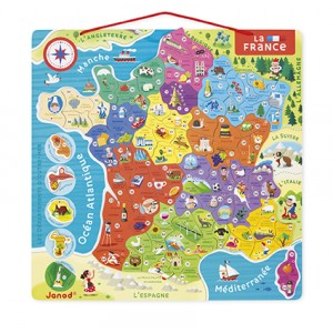 Puzzle La France Magnetique