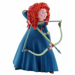 Figurine Rebelle - Merida avec arc