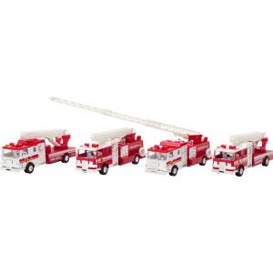 Camion de Pompier à friction Son et Lumière