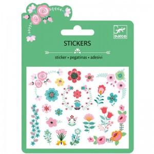 Stickers Petites Fleurs Glitter