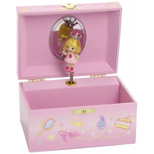 Coffret Musical Princesse Rose