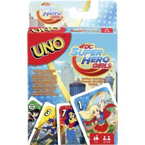 Uno DC Super Hero Girls