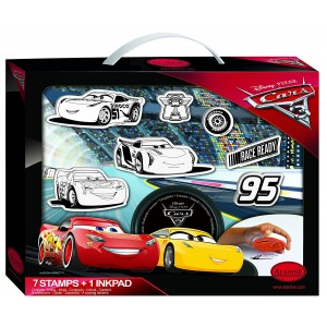Valise de Tampons - Cars 3 Disney