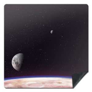 Tapis de Jeux de Figurines Deep Planet 92X92
