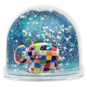 Globe Boule a Neige - Elmer l'Elephant