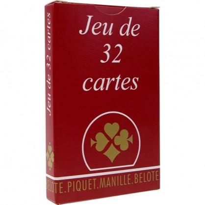 Jeu de 32 cartes France Cartes