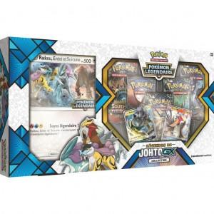 Coffret Pokemon Legendes de Johto GX