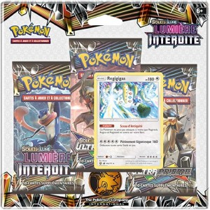 Pack 3 Boosters Pokemon Lumiere Interdite Soleil et Lune SL06