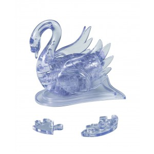 Crystal Puzzle Cygne 3D