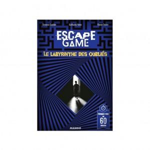 Livre Escape Game Le Labyrinthe des Oublies