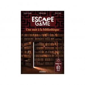 Livre Escape Game Une Nuit a la Bibliotheque