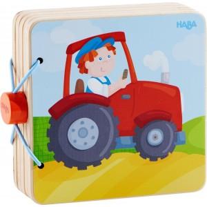 Livre en bois - Le Tracteur