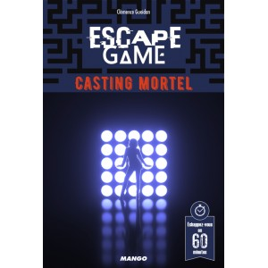 Livre Escape Game Casting Mortel