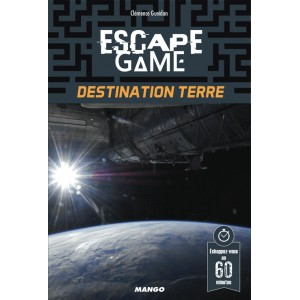 Livre Escape Game Destination Terre