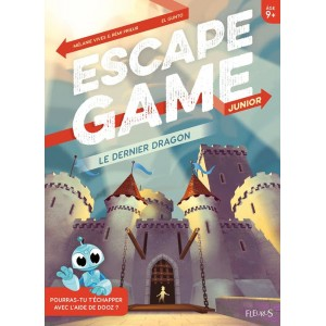 Livre Escape Game Junior Le Dernier Dragon