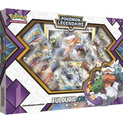 Coffret Pokemon Ho Oh Gx Legendes Brillantes Pouvoirs Premium