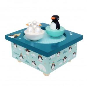 Boite a Musique Pingouin