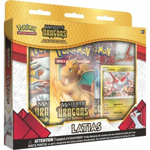 Coffret Pokemon Majeste des Dragons Latias SL7.5