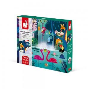 Puzzle Surprise Festin dans la Jungle