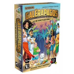 Galerapagos Extension Tribu et Personnages