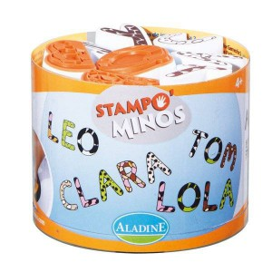 Stampo Minos Alphabet Majuscule