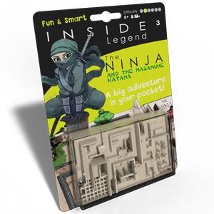 Inside 3 Legend The Ninja and the Masmune Katana