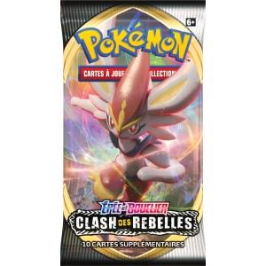 Booster Pokemon Clash des Rebelles Epee et Bouclier EB02