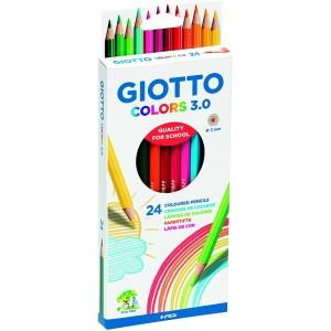 24 Crayons de Couleur Colors 3.0