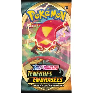 Booster Pokemon Tenebres Embrasees Epee et Bouclier EB03