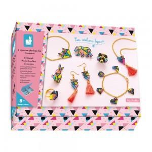 Kit Creatif Bijoux Plastique Fou Geometrix