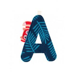 Lettre A Alice en tissu