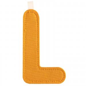 Lettre L en tissu