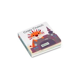 Crazy Crunch Livre Sonore et Tactile