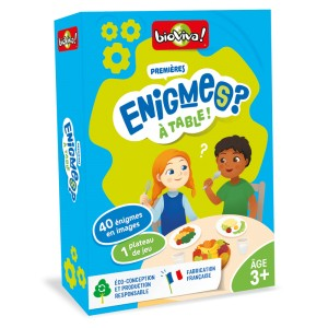 Mes Premieres Enigmes A Table