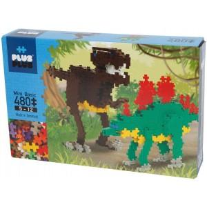 Box Mini Basic Dinosaures 480 pièces