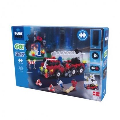 Box Plus Plus Go Pompier 500 Pieces