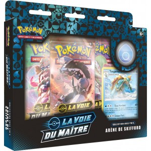 Pokemon Coffret Pin's 3 Arenes