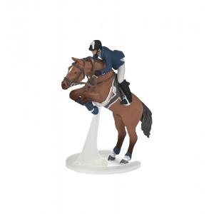 51562 Cheval de Saut Obstacle et son Cavalier