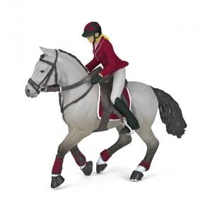 51563 Cheval de Concours et sa Cavalière