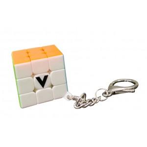 Porte Cle V Cube Plat
